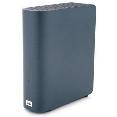 "Внешний жесткий диск Western Digital My Book Live lan 3.5"" 1Tb USB Black WDBACG0010HCH-EESN"