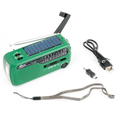 Ritmix универсальный походный динамо радиоприёмник (Green) RPR-7040