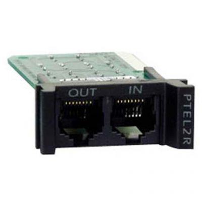 Аксессуар APC replaceabl E, rackmount, 1U, 2 line telco PTEL2R