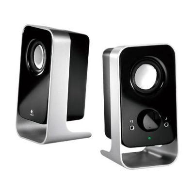 Колонки Logitech Speaker System 2.0 Logitech LS11 Black/Silver 980-000046