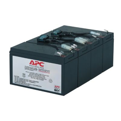 ����������� APC Battery replacement kit for SU1400Rmin et, SU1400RMI (������ �� 4 �������) RBC8