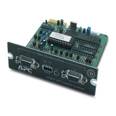 Аксессуар APC Interface Expander with 2 ups Communicat ion Cables SmartSlot Card AP9607CB