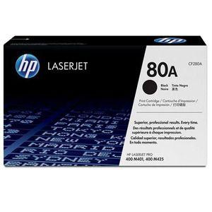 Тонер-картридж HP 80A Black/Черный (CF280A)