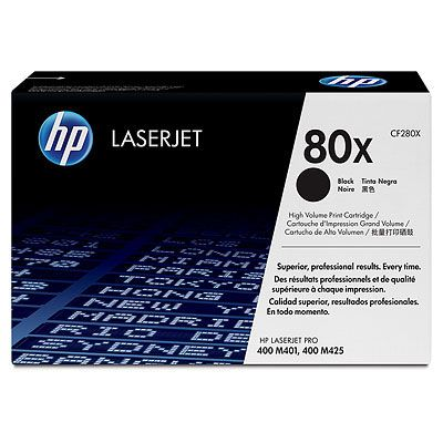��������� �������� HP 80X Black lj Toner Cartridge CF280X
