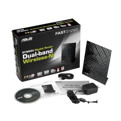 Wi-Fi роутер ASUS RT-N56U 300Mbps lan