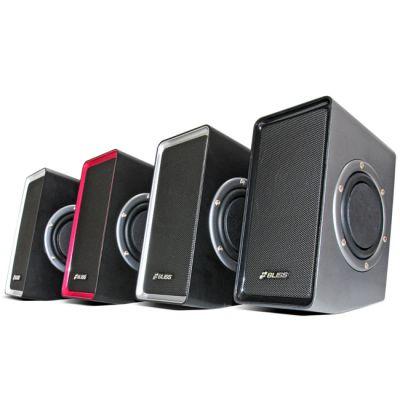 Колонки Bliss Sound M10 (серебристо-черные)