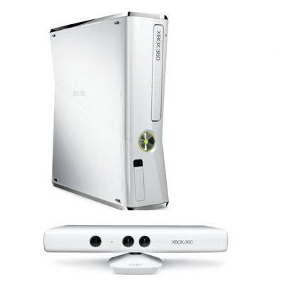 Игровая приставка Microsoft Xbox 360 4Gb Kinect Bundle White + Sports + 3M Live (S4G-00119)