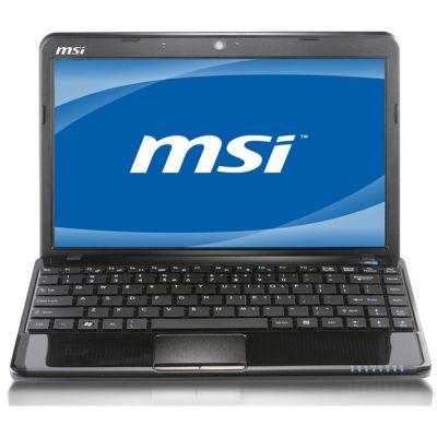 Ноутбук MSI Wind U270-404 Black