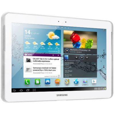 Планшет Samsung Galaxy Tab 2 10.1 P5100 16Gb (глянцевый белый) GT-P5100ZWASER