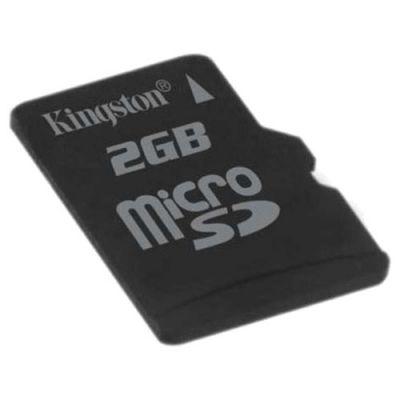 Карта памяти Kingston microSD 2Gb SDC/2GBSP