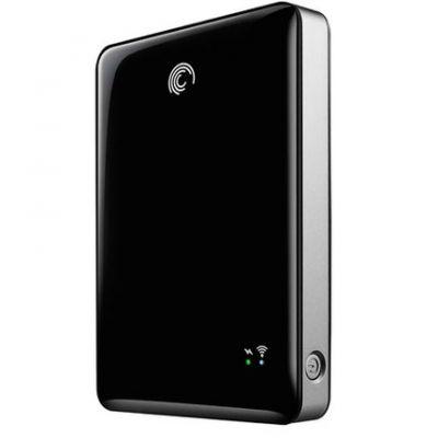 Внешний жесткий диск Seagate GoFlex Satellite 500GB, USB2.0/3.0/WiFi, Black STBF500200