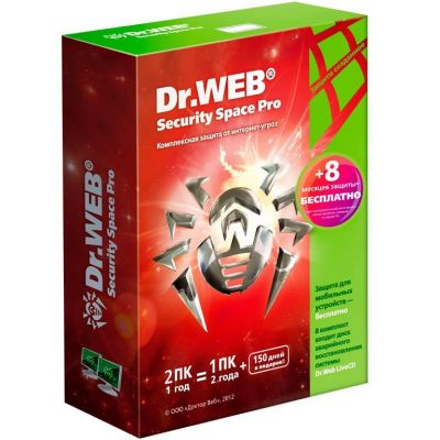 ��������� Dr.WEB � Security Space Pro BHW-B-12M-2A3-1