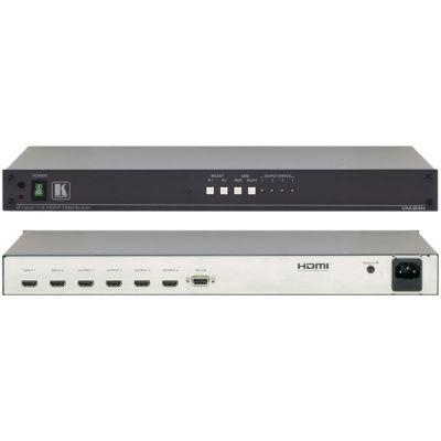 Комплект Kramer -распределитель 1:4 сигнала HDMI с входным коммутатором 2x1 VM-24H