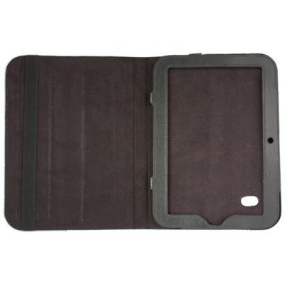 Чехол Partner для Lenovo K1 кожа (гладкий черный) Luxury