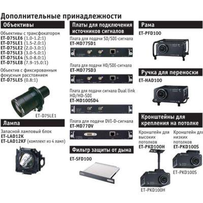 ��������, Panasonic PT-DW100E