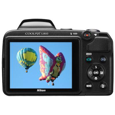 Зеркальный фотоаппарат Nikon Coolpix L810 Black