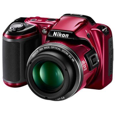 Зеркальный фотоаппарат Nikon Coolpix L810 Red