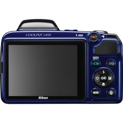 ���������� ����������� Nikon Coolpix L810 Blue