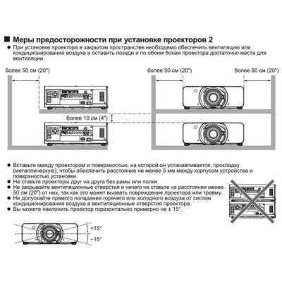 ��������, Panasonic PT-DS100XE