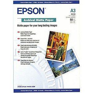 Расходный материал Epson Archival Matte Paper A3 C13S041344