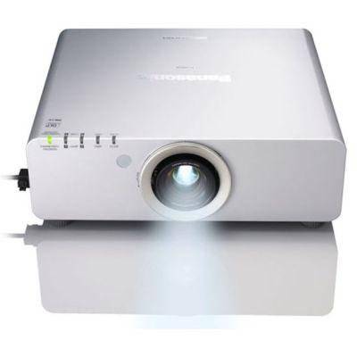 Проектор, Panasonic PT-DZ770ELS Cеребристый (без линз)
