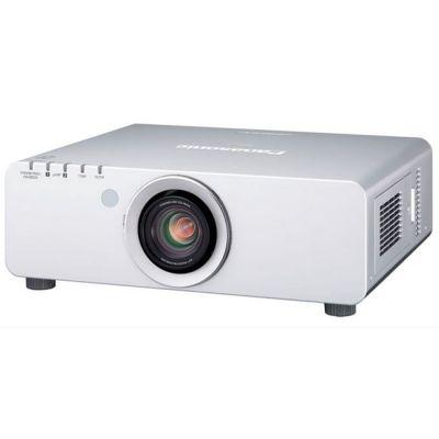 Проектор Panasonic PT-D6000ELS Cеребристый (без линз)