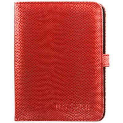 Чехол Pocket Nature универсальный для электронных книг (красный перламутр с ремешком) COV-ONYX-6RE-P