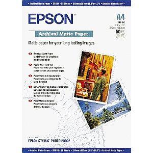 ��������� �������� Epson Archival Matte Paper A4 C13S041342