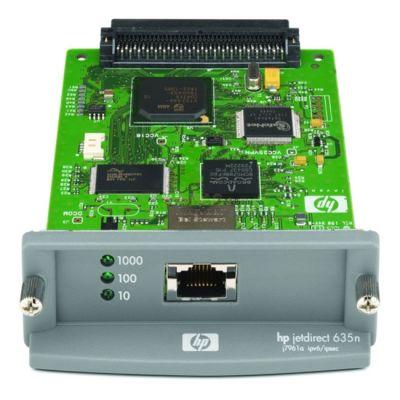 Опция устройства печати HP Внутренний сервер печати Jetdirect 635n IPv6/IPsec (EIO, 10/100/1000TX) J7961G