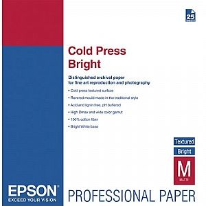 Расходный материал Epson Fine Art Paper Cold Press Bright A2 C13S042312