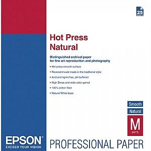 Расходный материал Epson Fine Art Paper Hot Press Bright A2 C13S042332