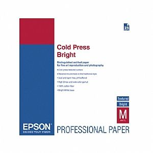Расходный материал Epson Fine Art Paper Hot Press Bright A3+ C13S042330