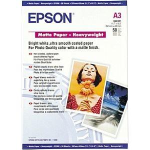 Расходный материал Epson Matte Paper-Heavyweight A3 C13S041261