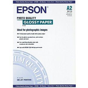 Расходный материал Epson Photo Quality Glossy Paper A2 C13S041123