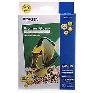 Расходный материал Epson Premium Glossy Photo Paper 13x18 50 листов C13S041875