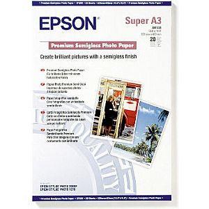 Расходный материал Epson Premium Semigloss Photo Paper A3+ C13S041328