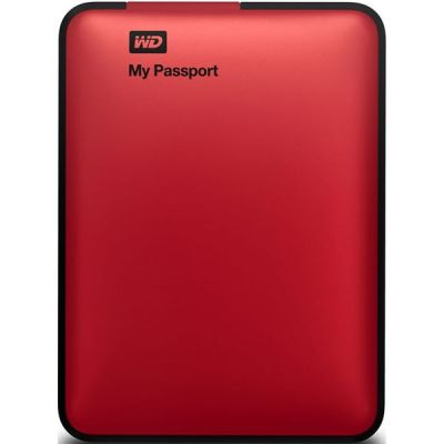 "Внешний жесткий диск Western Digital My Passport Essential 2.5"" 500Gb USB 3.0 Red WDBZZZ5000ARD-EEUE"