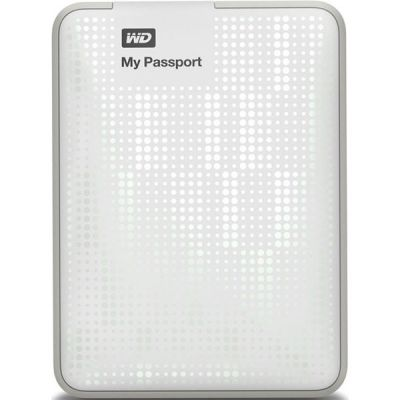 "������� ������� ���� Western Digital My Passport Essential 2.5"" 500Gb USB 3.0 White WDBZZZ5000AWT-EEUE"