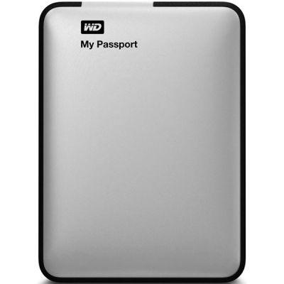 """������� ������� ���� Western Digital My Passport Essential 2.5"""" 1000Gb USB 3.0 Silver WDBEMM0010BSL-EEUE"""
