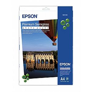 Расходный материал Epson Premium Semigloss Photo Paper A4 C13S041332