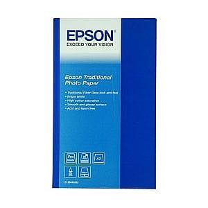 Расходный материал Epson Traditional Photo Paper A2 C13S045052