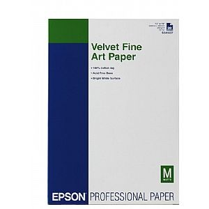 Расходный материал Epson Velvet FineArt Paper A3+ C13S041637