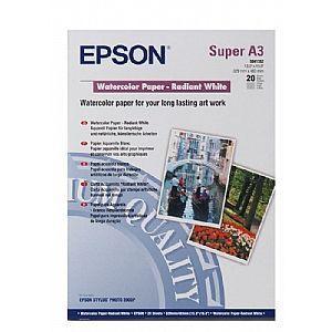 Расходный материал Epson Water Color Paper-Radiant White A3+ C13S041352