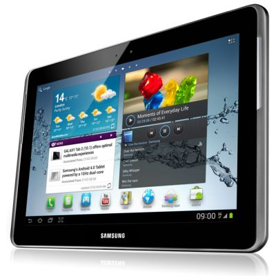 Планшет Samsung Galaxy Tab 2 10.1 P5110 16Gb (Titanium Silver) GT-P5110TSASER