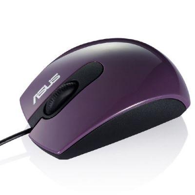 Мышь проводная ASUS UT210 Optical USB Purple 90-XB1C00MU00500-