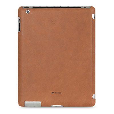 Чехол Melkco для Ipad new Slimme Cover Type – коричневый