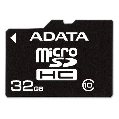 Карта памяти ADATA 32GB A-DATA microSDHC Class 10 AUSDH32GCL10-R
