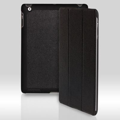����� Yoobao iSlim Leather Case ��� iPad2/iPad3 Black