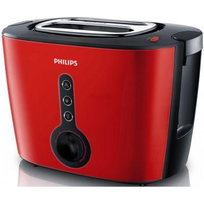 Тостер Philips HD2636 красный HD2636/40