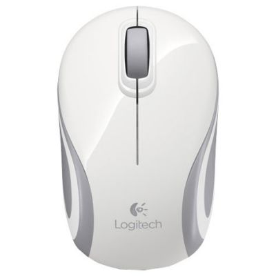 ���� ������������ Logitech Wireless Mouse M187 White 910-002740